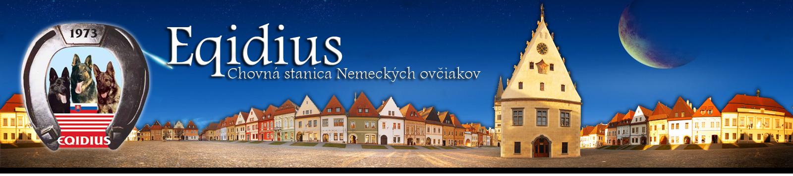 Eqidius - Chovná stanica Nemeckých ovčiakov