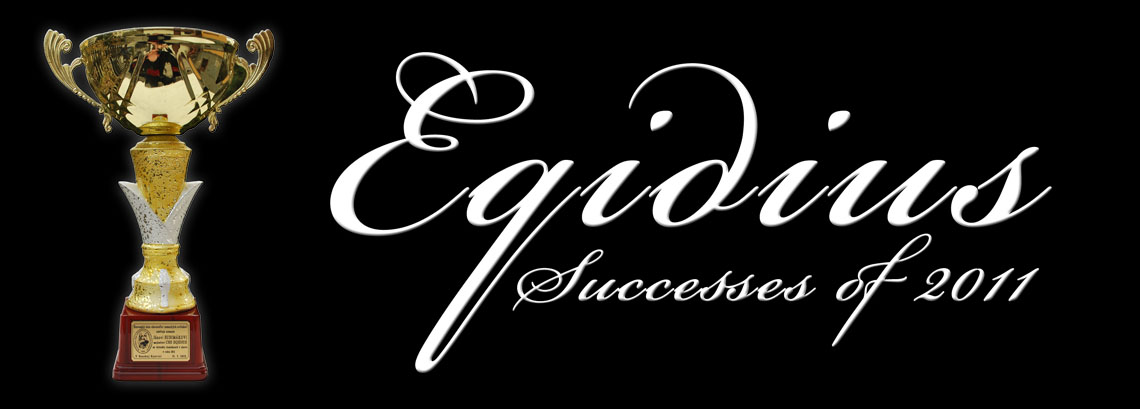 Successes of Eqidius in 2011